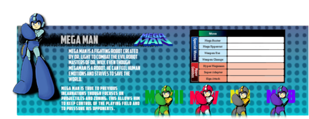Megaman mvc4info