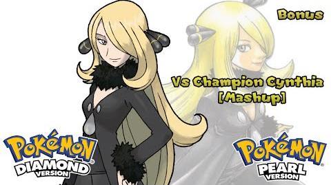 Pokemon DP PT & Remix - Champion Cynthia Battle Music Mashup (HQ)