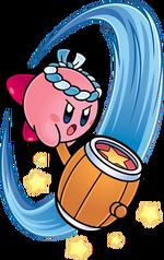 Kirby's Hammer Ability