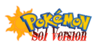 Pokemon Sol Version Logo