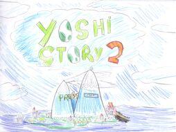 Yoshi Story 2 - Title