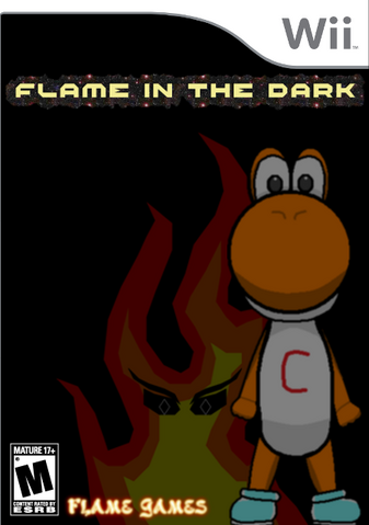 File:Flame in the Dark Wii Boxart.png