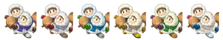 Ice Climbers Palette