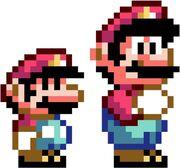 SMW Super Mario by bizklimkit