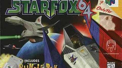 Title Screen (Star Fox 64)