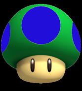 Half Up Mushroom