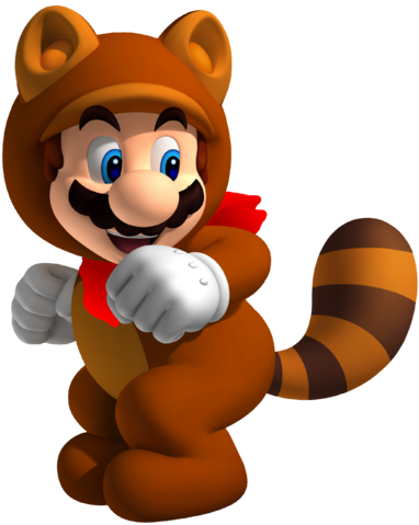 File:Tanooki Mario with handkerchief.png