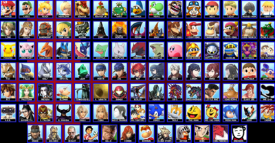 Final Roster Both DLCs