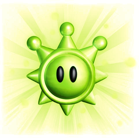 File:Green Shine Sprite.png