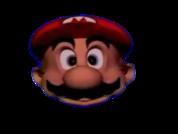 Mario Head Red