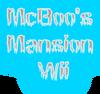 McBoo's Mansion Wii Logo