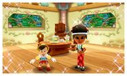 DMW - Pinocchio and Mii Photos