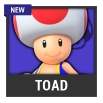 ACL -- Super Smash Bros. Switch character box - Toad