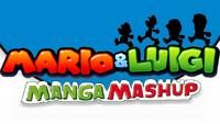 Mario and Luigi Manga Mashup Logo