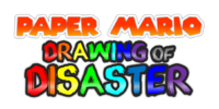 Paper Mario Drawing of Disaster