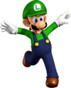 Luigi Artwork - Super Mario 64 DS