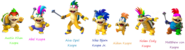 Emerald's Koopalings