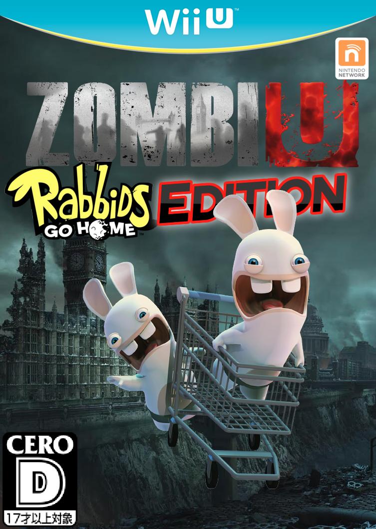 zombiu rabbids go home edition fantendo nintendo
