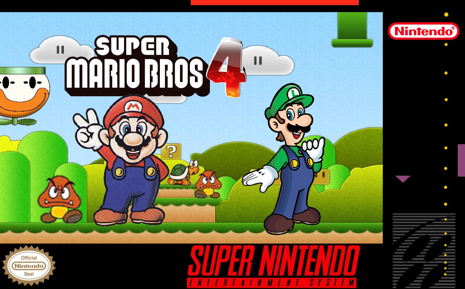 Super Mario Bros 4 Fantendo Nintendo Fanon Wiki Fandom Powered By Wikia