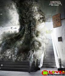 Godzilla Promotional Poster