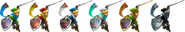 SSBRiot Link Color Palettes