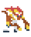 Infernape Costume