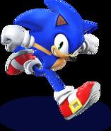 407px-SSB4 - Sonic Artwork