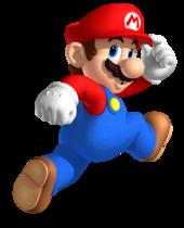 Mario jumping