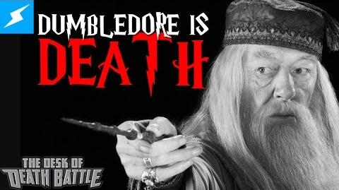 Dumbledore is Death??? The Desk of DEATH BATTLE!