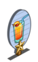 Pineapple Sunrise 1 Star Mastery Sign-icon