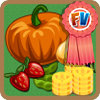 Harvested crops red