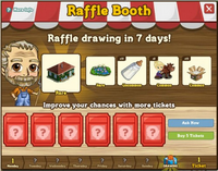 Raffle Booth Draw August 8 2011