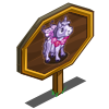 Purple Fairy Mini Horse Mastery Sign-icon