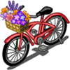 Flower Bike-icon
