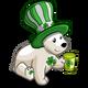 Shamrock Heart Bear-icon