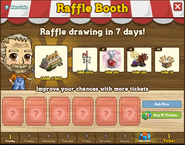 Raffle Booth Draw October 10 2011