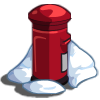Winter Mailbox-icon