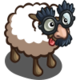 Silly Glasses Sheep-icon