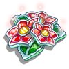 Frosted Poinsettia-icon