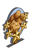Oatmeal Cookies 5 Star Mastery Sign-icon