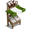 Cotton Stall-icon