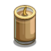 Gingerbread Candle-icon