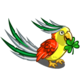 Patricks Day Parrot-icon
