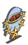 Rhubarb Crumble 5 Star Mastery Sign-icon