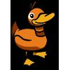 Orange Duck-icon
