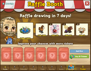 Raffle Booth Draw October 17 2011