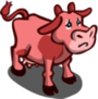 Found Pink Cow