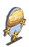 Potato and Onion Bread 3 Star Mastery Sign-icon