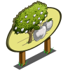 White Apple Tree Mastery Sign-icon