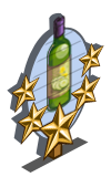 Cucumber Wine 5 Star Mastery Sign-icon